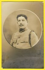 cpa Carte Photo Médaillon MILITAIRE SOLDAT du 54e Régiment