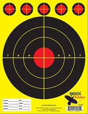 75 SNIPER RANGE RIFLE PAPER SHOOTING TARGETS INDOOR OUTDOOR