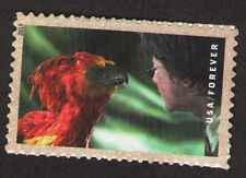 """US. 4829. Fawkes the Phoenix. Booklet """"Harry Potter"""" Single. Mint. NH"""