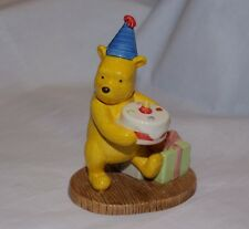 Winnie the Pooh Presents and Parties Royal Doulton Birthday Figurine
