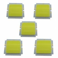5 PCS 10W 45x45mm Cool White COB Led Ceiling Lamp Chip Light Source 6000K 29-36V