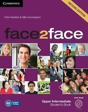 FACE2FACE UPPER INTERMEDIATE STUDENT'S BOOK WITH DVD-ROM 2ND EDITION by...