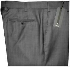 $325 NWT ZANELLA NORDSTROM DEVON DARK GRAY WEAVE SUPER 120'S WOOL DRESS PANTS 36