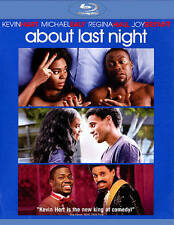 ABOUT LAST NIGHT (Blu-ray + UV, 2014) Comedy Kevin Hart NEW [See Description]