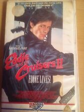 EDDIE AND THE CRUISERS 2 EDDIE LIVES VIDEO RARE ROCK MUSIC DRAMA MICHAEL PARE