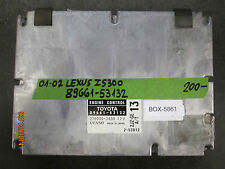 01 02 LEXUS IS300    ECU:89661-53132