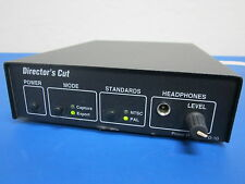 Power R Inc Director's Cut D-10 Analog To IEEE-1394 Converter 9-12VDC Firewire