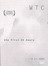 WTC: The First 24 Hours (DVD, 2002) SHIPS NEXT DAY North Tower Ground Zero