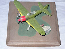 "STARFIX  BUILT-UP W/DIORAMA BASE  "" A6M5 ZERO-SEN ""  1/72 SCALE,NICE, NO DECAL"