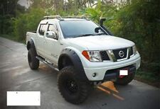 Nissan Navara D40 Wide wheel arches fender flares extension.