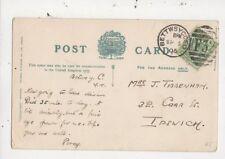 Mrs J Tibbenham Carr Street Ipswich 1905  980a