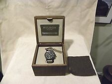 Filson Mackinaw Chronograph watch Brand New with all accessories included