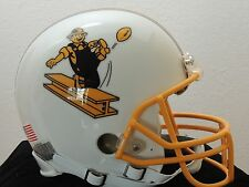 RIDDELL PITTSBURGH STEELERS CUSTOM FULL SIZE FOOTBALL HELMET ~ WHITE ~ MEDIUM