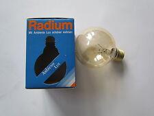 RADIUM Ambience De luxe GLOBE E27 40W G80 ANCIEN Lampe GLOBE Or Geluestert