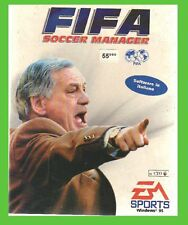 FIFA SOCCER MANAGER pc cd rom ITA crysis CARTONATO italiano easport