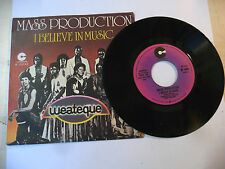 "MASS PRODUCTION""I BELIEVE IN MUSIC-disco 45 giri COTILLON It 1977""PERFETTO"