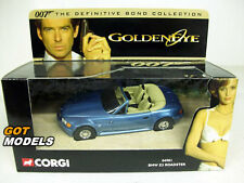 BMW Z3 ROADSTER - CORGI MODELS JAMES BOND 007 GOLDENEYE 04901
