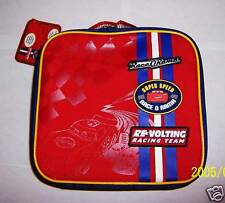NEW DISNEY ~~ CARS~~ CANVAS  LUNCH BAG /BOX  INSULATED