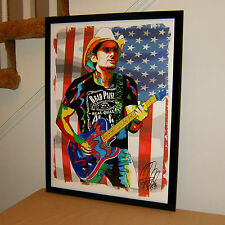 Brad Paisley, Country Music, Vocals, Guitar, Songwriter, 18x24 POSTER w/COA 1