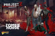 WARLORD Games NUOVO CON SCATOLA PROGETTO Z-Zombie orda di espansione wgz-zom-01