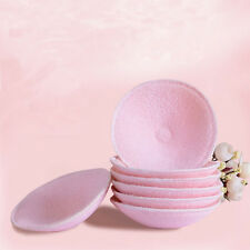 2PCS Hot Bamboo Nursing Breast Pads Antibacterial Absorbent Washable Resuable