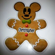 Disney Mickey Mouse Gingerbread Christmas Stateroom Cruise Door Magnet