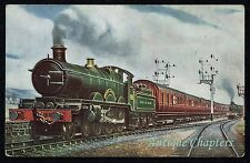 1916 GWR Hospital Train Postcard A770