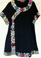❀ڿڰۣ❀ BUTLER & WILSON ❀ڿڰۣ❀ JEWELLED ❀ ORIENTAL CHINESE FLOWER TOP ❀ Size XXL