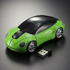 2.4GHz USB Optical 3D Model Car Shape Wireless Mouse For Laptop Computer PC New