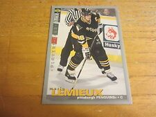 Mario Lemieux 1995-96 Collector's Choice Player's Club #256 Card NHL Penguins