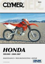 Clymer Repair Service Shop Manual Vintage Honda XR650R 02, 03, 04, 05, 06, 07