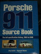 PORSCHE 911 libro di origine specifiche tecniche 1963 2009 T E S Sc gt3 gt2 gt1