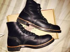 "Red Wing 6 Inch Iron Ranger Boot ""Black"""