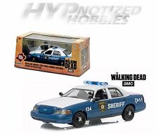 GREENLIGHT 1:43 RICK GRIMES' 2001 FORD CROWN VICTORIA POLICE INTERCEPTOR 86504
