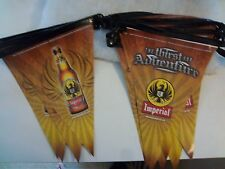 BRAND-NEW IMPERIAL BEER BANNER FLAG STRING SET 17 ft.