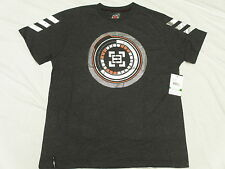 $38 NWT NEW Mens Enyce T-Shirt Nebula Tee Charcoal Grey Urban Print Size L L133