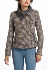 Anthropologie Tabitha Lined Woven Ottawa Coat XS