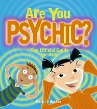 Are You Psychic?: The Official Guide for Kids-ExLibrary