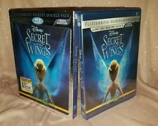 Secret of the Wings (Blu-ray/DVD, 2012, 3-Disc Set, 3D/2D & Digital Copy) NEW