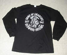 SONS OF ANARCHY REAPER FRONT REDWOOD ORIGINAL BLACK LONG SLEEVE T-SHIRT S Small