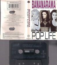 BANANARAMA  Pop life   RARE DIFICULT SPANISH cassette SPAIN