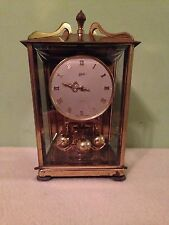 Vintage Aug Schatz & Sohne 53 Germany 400 Day Anniversary Mantel Clock (AS IS)