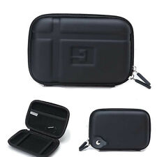"5.2"" Hard Carry Case Cover 5"" In Car Sat Nav Holder For GPS Garmin Nuvi TomTom"