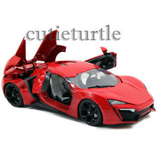 Jada Fast and Furious 7 Lykan Hypersport 1:18 Diecast Model Car 97388 Red