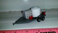 1/64 ERTL custom farm toy sprayer tender water trailer tank pump reel roundup gr