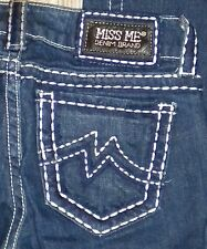 TAG SZ 25 WOMENS MISS ME # JPD1015 Sunny Boot STRETCH JEANS Actual 27X32