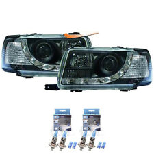 Scheinwerfer Set Audi 80 B4 Typ 8C Bj. 91-94 LED Dragon Lights klar/schwarz 9GB
