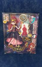 Monster high doll Haunt the Casbah Draculaura 13 wishes