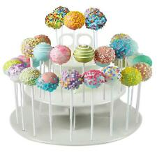 3-Tier 42 Holes Plastics Cake Pop Lollipop Cupcake Display Stand Holder