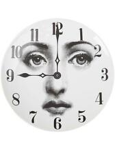 Fornasetti Woman Lina Plate With Clock Design on Plate by Piero Fornasetti NIB